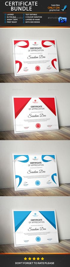 Certificate Template EPS Certificate Templates Pinterest Best - best of download certificate of appreciation