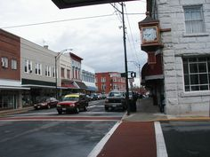 Downtown Mt. Airy, NC.