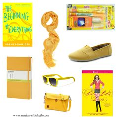 All Things Yellow!  Dreaming of Spring.