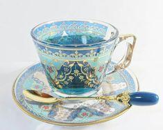 W Fine Porcelain China Diane Japan Tea Cup Set, Tea Sets, Cuppa Tea, Cute Mugs, Mug Cup, Cup And Saucer, Tea Time, Tea Party, Coffee Cups