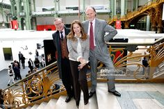 Prince Jean du Luxembourg with Prince and Princess Pierre d'Arenberg attend the 'FIAC 2015 - International Contemporary Art Fair' at Le Grand Palais on October 21, 2015 in Paris, France.