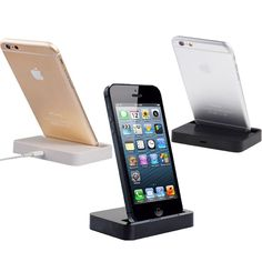 Voor apple iphone 5 5 s charger adapter dock stand station voor iphone se 5c 6 6 s voor iphone 6 7 plus desktop dock charger