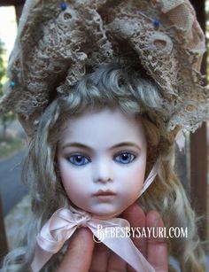 April | 2019 | Bébés By Sayuri Antique Dolls, Vintage Dolls, China Painting, Bisque Doll, Beautiful Dolls, Doll Clothes, Winter Hats, Crafty, Disney Princess