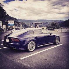 Wheel choices - Japan style anyone? #Audi #RS7 ||||  @ryo._3 |||| #audidriven…