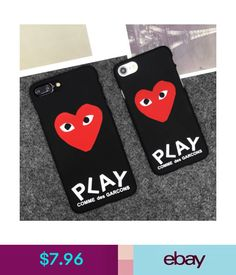 9d23fc5a7ba989  7.96 - Play Comme Des Garcons Cdg Hard Matte Protect Case Cover For Iphone  X 8