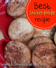 Snickerdoodle Done Right Recipe — Dishmaps
