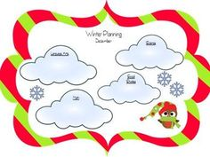 Winter planning freebie! Great for classroom, music, PE, and art teachers to plan lessons during the winter months!