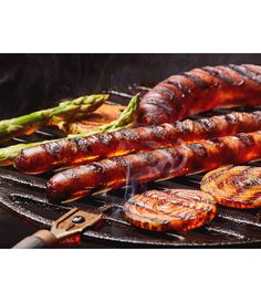 Grill Pan, Shrimp, Grilling, Meat, Kitchen, Food, Griddle Pan, Cooking, Eten