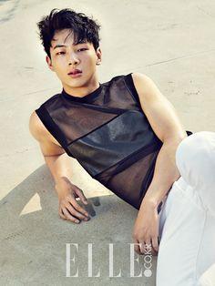 Ji Soo - Elle Magazine July Issue '15