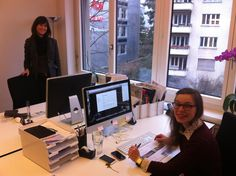 Tina (left) and Leslie (right) are responsible for all our guests. Zurich, Film Festival, Filmmaking, No Response, Cinema, Movie Party
