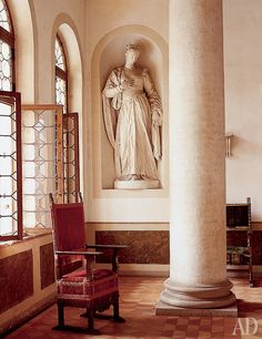 Villa Cornaro interior , architect Andrea Palladio, Italy