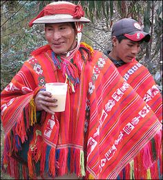 Indigenous Peruvian people, Quechuans.