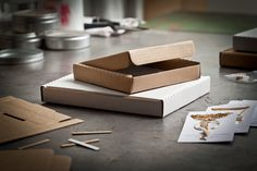 The slotbox is a thin box mailer perfect for e-commerce needs. Mail as Canada Post Oversize/letter mail. Fits the / slot of doom Pottery Supplies, Canada Post, Shipping Boxes, Paper Envelopes, Small Boxes, Have Some Fun, Working Area, Jewellery Display, Slot