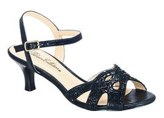 Berk-173 Women's Rhinestone Open Toe Low Kitten Heel Formal Sandal *** Review more details here : Lace up sandals