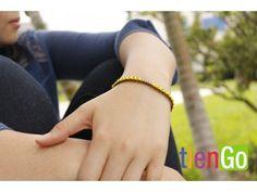 Brazalete de mostacillas a colores Handmade Bracelets, Beaded Bracelets, Artisan, Stuff To Buy, Jewelry, Bracelet, Colors, Jewlery, Jewerly