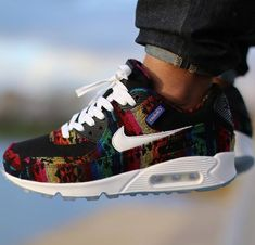 01c3433cd8ed Nike Air Max 90 Red Velvet from the 25th anniversary pack  afrokix ...