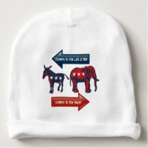 Election 2016 for Baby! Democrat or Republican! Baby Beanie