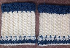Ravelry: interchangeable spec of color boot cuff pattern by jackie blennis