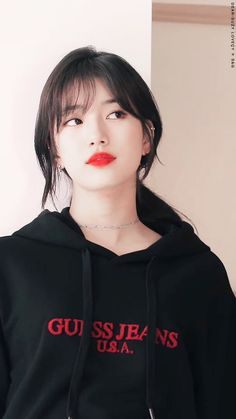 Suzy Bae her lips look very kissable.
