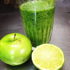 sour green apple smoothie