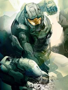 Halo 4 this guy is good he dont even need a gun hes tough!!!!  Your #1 Source for Video Games, Consoles & Accessories! Multicitygames.com