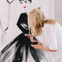 Home - Kerrie Hess Illustration Interior Designers Melbourne, Online Art Courses, Kerrie Hess, Art For Kids, Tulle, Instagram Posts, Illustration, Originals, Painting