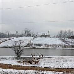 My farm house. Our snow in Alabama. Love it when it snows! We never get snow.