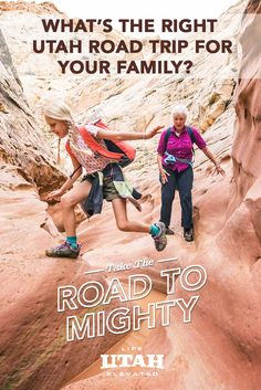 Memories made with family are some of the most lasting, and with five national parks, Utah has everything you need to make indelible memories this summer. Find your with one of our suggested itineraries, or build your own perfect road trip. Utah Vacation, Vacation Trips, Vacation Spots, Vacation Ideas, Family Adventure, Adventure Travel, The Places Youll Go, Places To Go, Vacations To Go