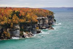 Autumn at Pictured Rocks National Lakeshore Michigan