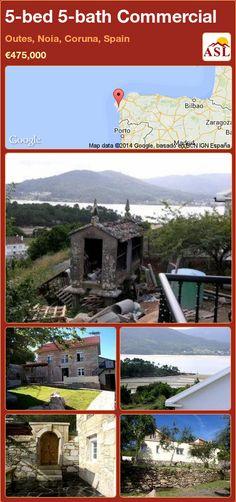 5-bed 5-bath Commercial in Outes, Noia, Coruna, Spain ►€475,000 #PropertyForSaleInSpain