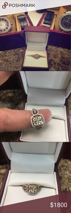 Size 7 ring Need gone taking any offer Selling a chocolate diamond ring size 7 perfect for this Mother's Day!!! Jewelry Rings