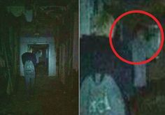During a ghost hunt in an abandoned hospital in Stockport, UK, paranormal investigator Jamie-Leigh Brown captured on camera what appears to be the ghostly figure of a doctor lurking in one of the hallways. Brown only reviewed her photographs after the ghost hunt was cut short when her group fled the hospital after hearing strange footsteps from the empty floor above.