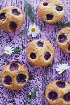 Cherry Coconut Friands Top
