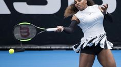 Serena Williams wins opening match in Auckland #Sport #iNewsPhoto
