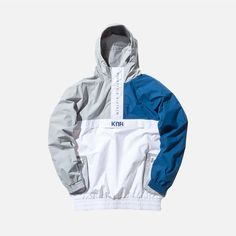 Kith Walker Anorak - White / Navy