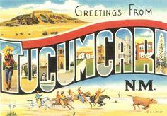 tucumcari+new+mexico   ... Postcards (Free Shipping) » State by State Postcards » New Mexico