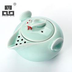 TANGPIN longquan цвет морской волны рыбы чайник керамический чайник керамический гайвань чашка рыбы китайский кунг-фу чайный сервиз посуда
