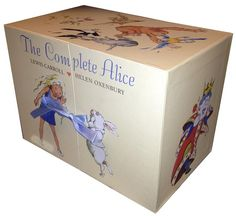 The Complete Alice Gift Box Collection Lewis Carroll 22 Books Set. #alice #LewisCarroll #BoxSet #gift #mothersday #mothersdaygifts