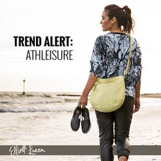 Trend Alert: Athleisure Sport the look with the popular Faro Hobo in new perforated leather & the comfortably chic Rani Sneaker. Shop now.