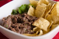 Oh SO Delicioso!: Black Bean Cilantro Dip