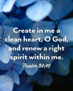 A clean heart God cleanses our hearts of sin when he pardons us not only for our sake but also for the sake of others. When we have a fresh experience of the Lords pardon we are granted a deeper awareness of His mercy and we should go forth and tell others of His grace because we are thankful for what He has done for us. Insofar as we are able let us look for opportunities to tell other people about the grace of God available inChrist. 1.The blessing asked for. It may refer to two distinct…