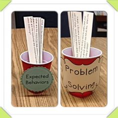 Impulse Control Small Group Idea