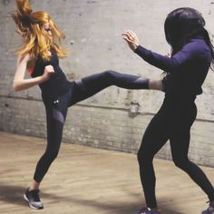 Master these 3 fight sequences by Shadowhunters' Katherine McNamara to look and feel badass.