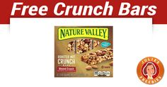 Free Nature Valley Nut Crunch Bars