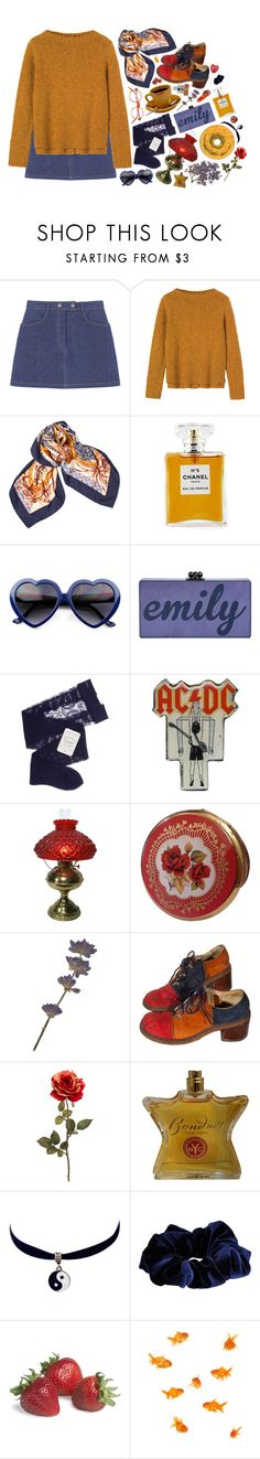 """""""sophomore slump or comeback of the year"""" by vices-virtues ❤ liked on Polyvore featuring Toast, Hermès, Chanel, Gerbe, Bond No. 9, Chicnova Fashion and River Island"""
