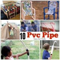 10 PVC Pipe Toys for Kids