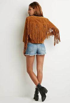 fringe jacket √ yes ♡ love