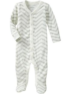 Logan lives in these sleepers. Super soft and buttons down each leg so I don't have to jam his chubby thigh in a zipper sleeper. Love these!