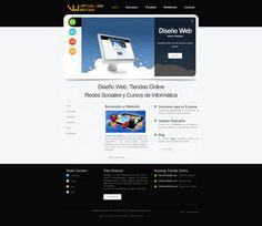 Web Virtual Web Estudio v.2 2013/14 - Inicio #diseñoweb #paginasweb #DiseñadorWebValencia #DiseñadorWeb