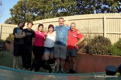 My brother Darren and his family :) Nanango 2011